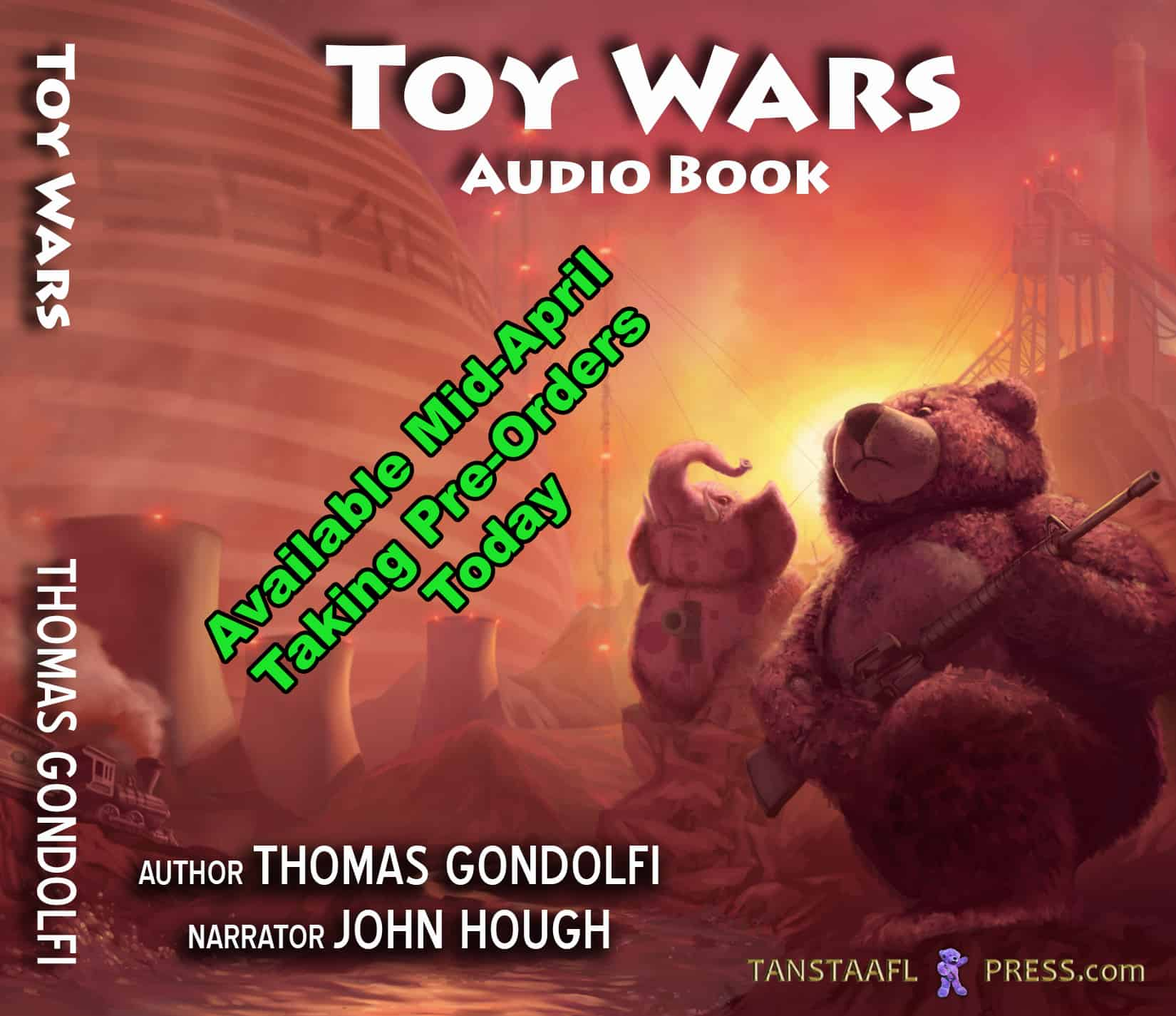 Toy Wars Audiobook Avail